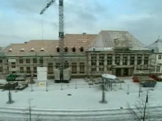 Baufortschritt Teil 1 - Vom Bahnhof zur Bibliothek - Renaissance für den Bahnhof Luckenwalde