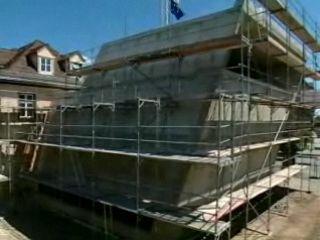 Baufortschritt Teil 3 - Richtfest - Der nächste Schritt für den Bahnhofsumbau in Luckenwalde